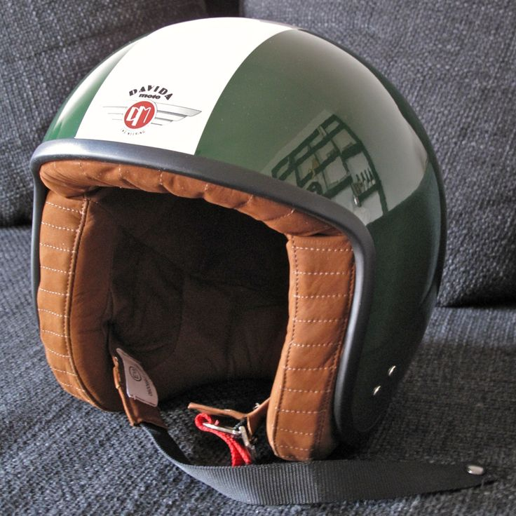 Davida Helmets - Made in the UK to complement your British Cafe Racer
