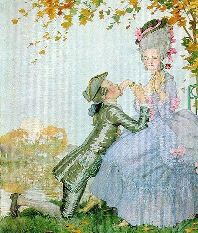 Дама и кавалер