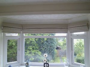 ... ex large roman blinds,up to 3m width,bay windows,estimate/sample