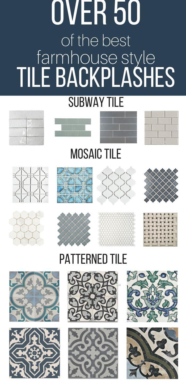 Over 50 of the Best Farmhouse Tile Backsplash Ideas   BEST ...