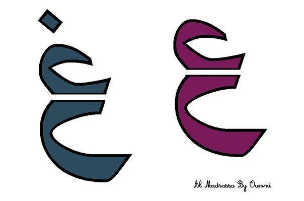 Арабский алфавит 2