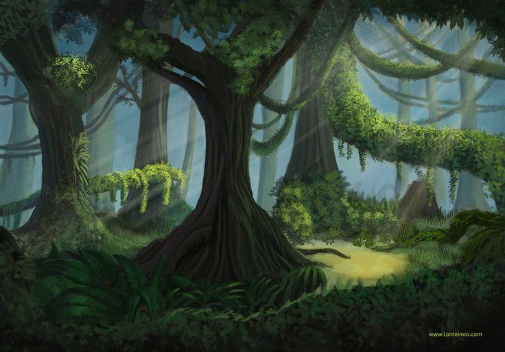 Empty Jungle by LorDeimos.deviantart.com on @deviantART