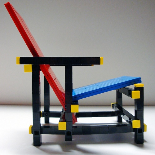 My folk had one...I was allowed to sit in a couple of times...wonderful piece of art & design. Gerrit Rietveld Chair