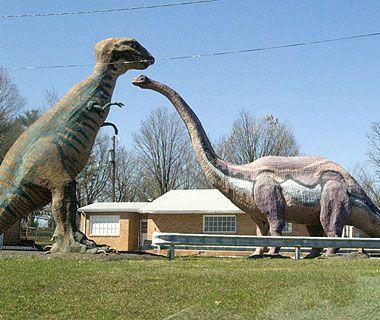 Dinosaur Land in Virginia's Shenandoah Valley