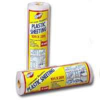 Warp Brothers 3CH10-C 10' x 25' 3 ML Clear Plastic Sheeting, Multicolor