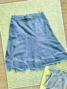 Damen Jeans Rock Samoon Gr.54 Schwarz/Grau in Stuttgart - Bad-Cannstatt   eBay Kleinanzeigen
