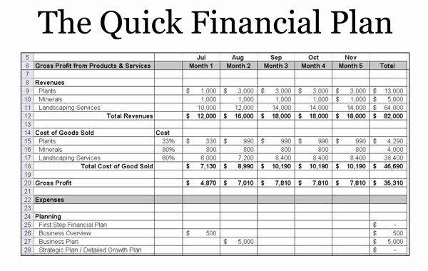 Financial Advisor Business Plan Template Inspirational Startup Foundations Succe Financial Plan Template Startup Business Plan Template Startup Business Plan