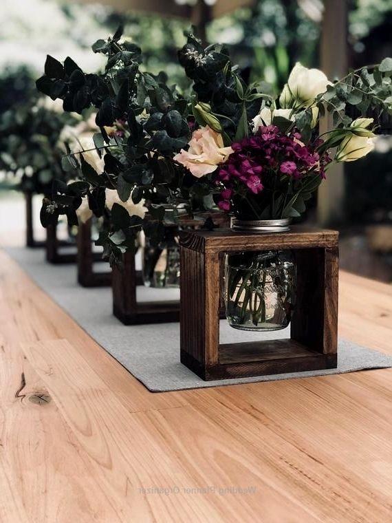 Rustic Wooden Vase Centrepieces Marriage Ceremony Isle Interior Decoration Party Decor Or Resi In 2020 Rustic Wedding Decor Rustic Wedding Ceremony Decor Rustic Vase