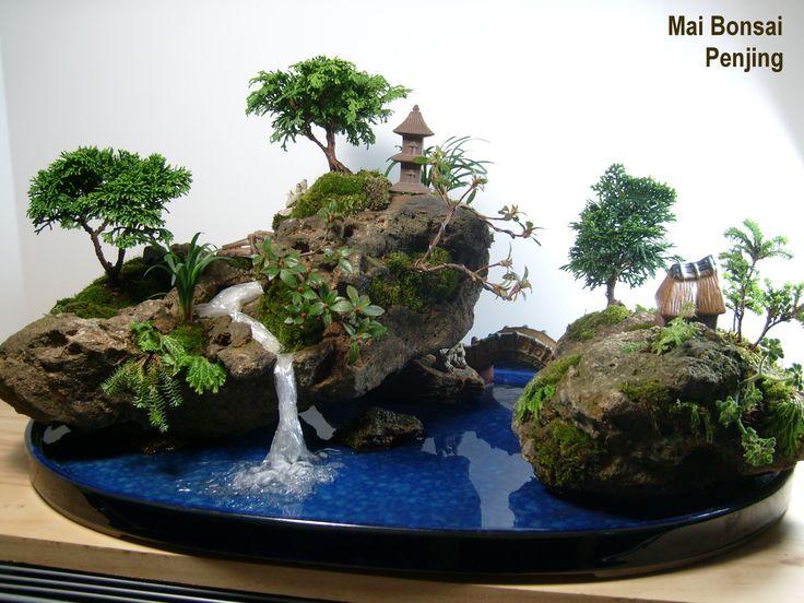 Resultado de imagen para paisajes miniatura
