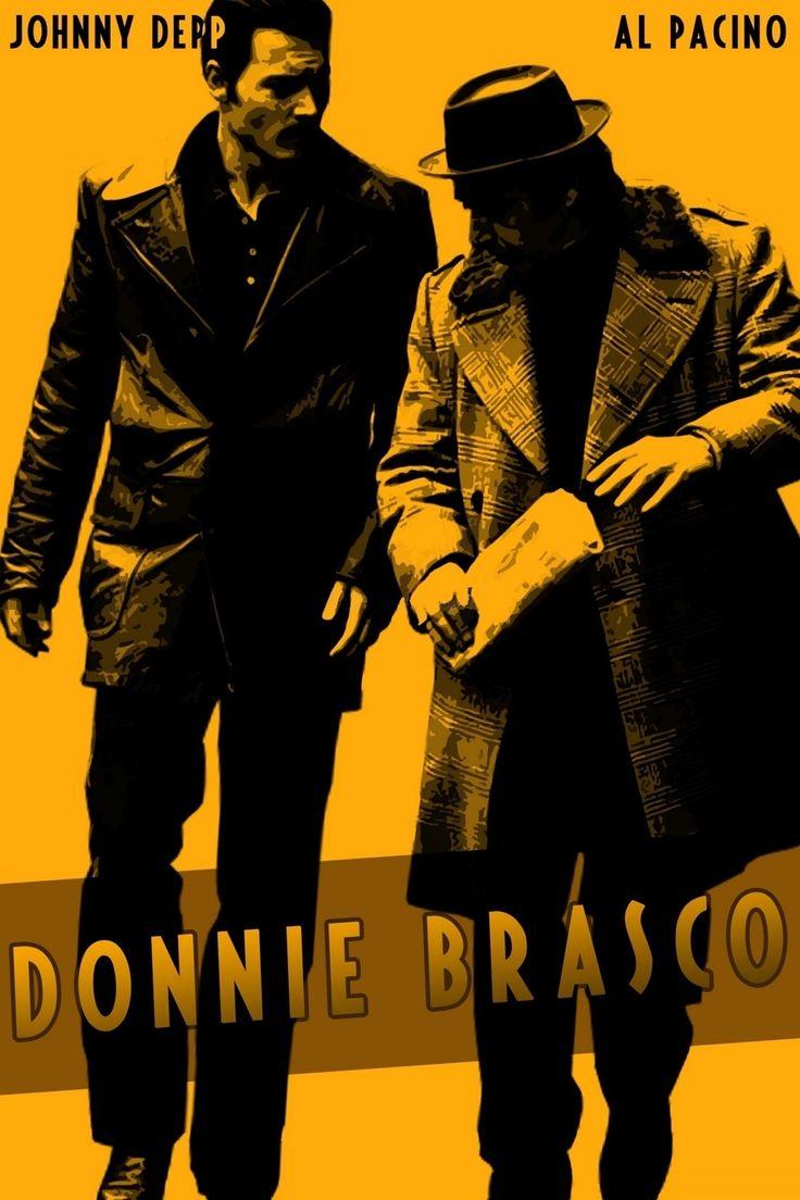 Donnie Brasco - alternative movie poster #GangsterMovie #GangsterFlick