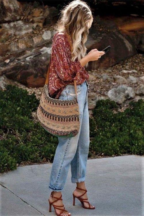Boho looks #Bohemian #mychoice #fashion #outfit #look 1