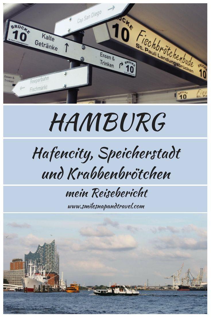 Sonne und Regen in Hamburg