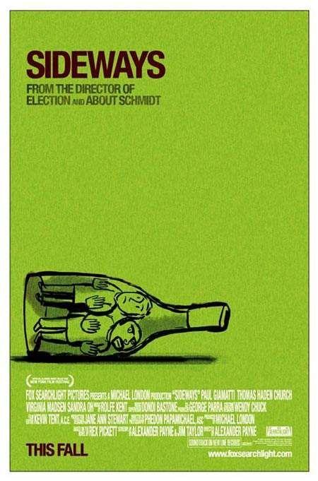 Exquisite Independent Film Posters series:  Sideways