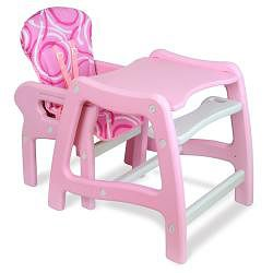 Badger Basket Envee Baby High Chair/ Play Table in Pink - Overstock Shopping - Great Deals on Badger Basket High Chairs