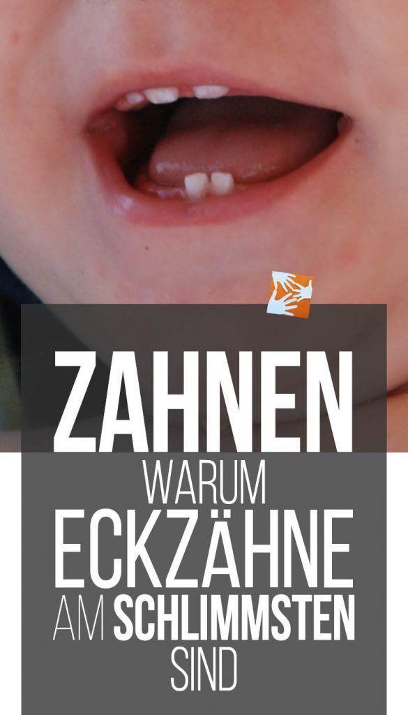 Zahnen: Eckzähne sind die schlimmsten | Muttis Nähkästchen