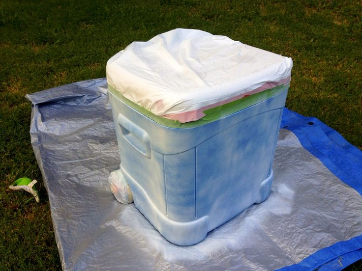 How to paint a cooler