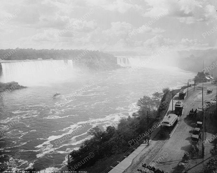 Niagara Gorge Railroad 1905 Vintage 8x10 Reprint Of Old Photo