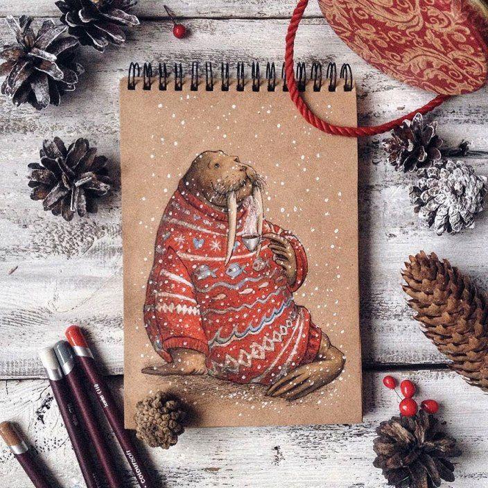 Pencil_illustrations_lia_selina13.jpg (704×704)