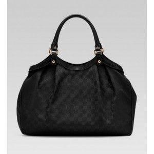 www.goutletsonlinestore.com/gucci-sukey-large-tote-fabric-black-p-687.html      Gucci Sukey Large Tote Fabric Black