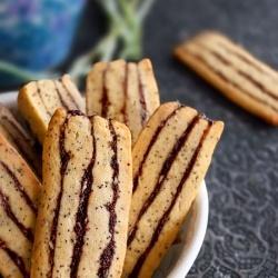 Poppyseed Ribbon Cookies