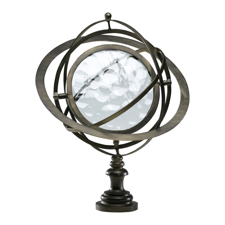 World Globe by Cyan Design 02829 at Plum28 #PlumPerfectDesign 02829, Decor Design, Glasses Decor, Interiors Design, Cyan Design, World Globes, Globes Statuette, Antiques Flemish, Flemish Iron