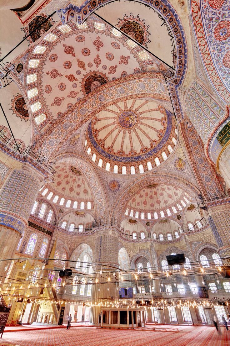Blue Mosque, Istanbul ,Turkey.