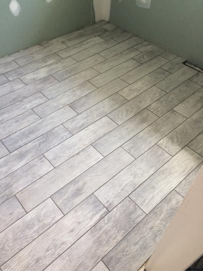Marazzi Montagna Dapple Gray 6 In X 24 In Porcelain Floor And Wall Tile 1453 Sq Ft Case