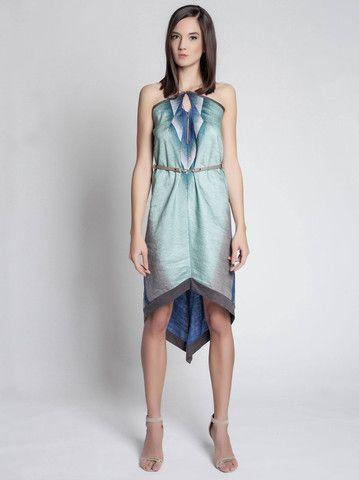 Gabo Szerencses Peacock Dress