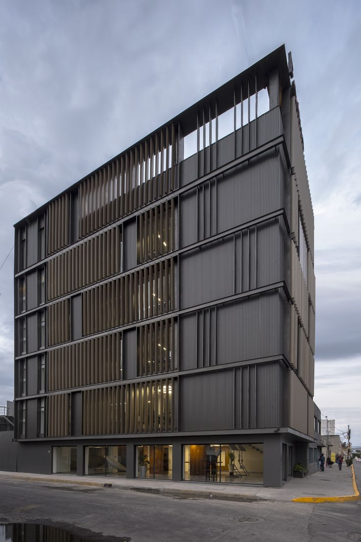 Renovation of m xico fortius office building erreqerre for Ultra modern office building design
