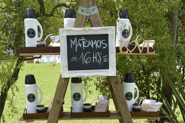 Mate para el casamiento: ¡una original idea para fiestas de día! #casamientoscomar  #casamientos2018  #bodas2018 #DIY #decoracion #mesasdeboda #tipsdeboda #weddingdeco #DIYideas #invitadoscasamiento