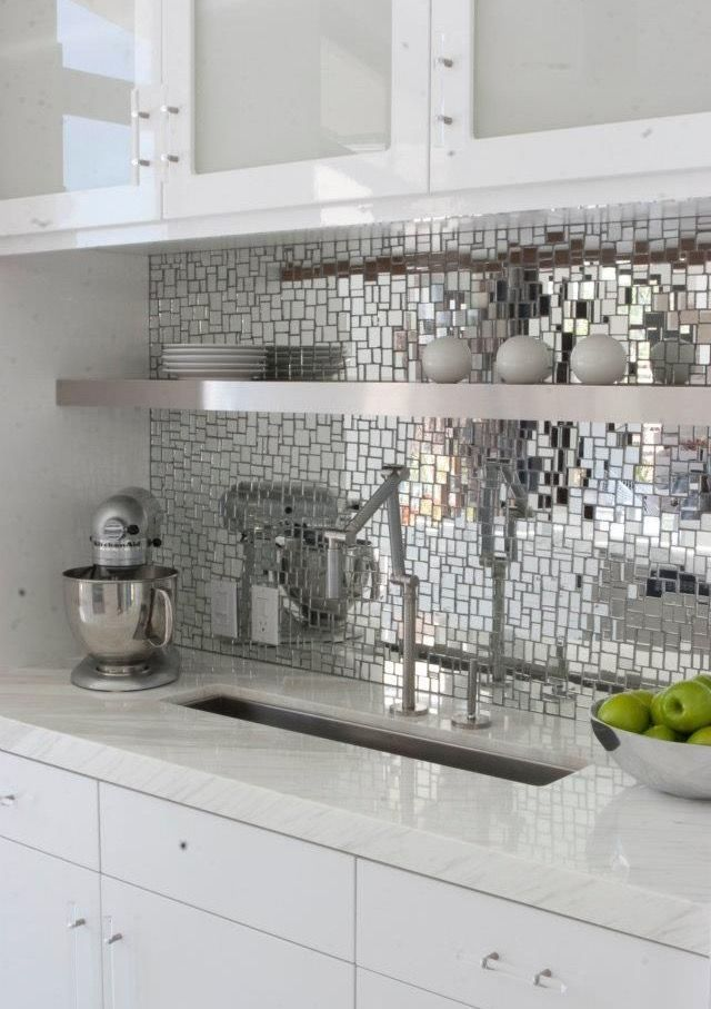 Mod Mirror Backsplash Tiles