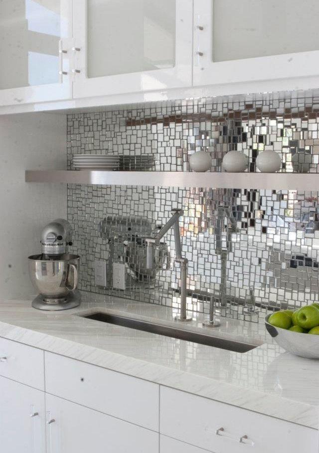 Mod Mirror Backsplash Tiles