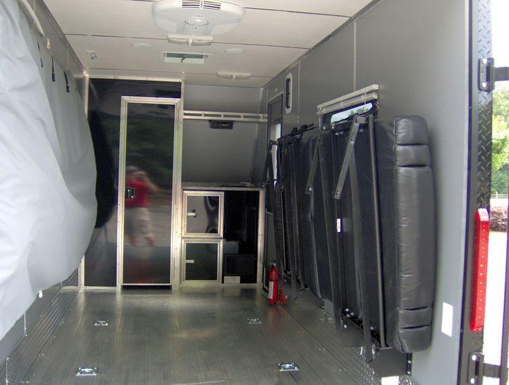 enclosed all aluminum motorcycle toy hauler trailer 6 x 15 ...