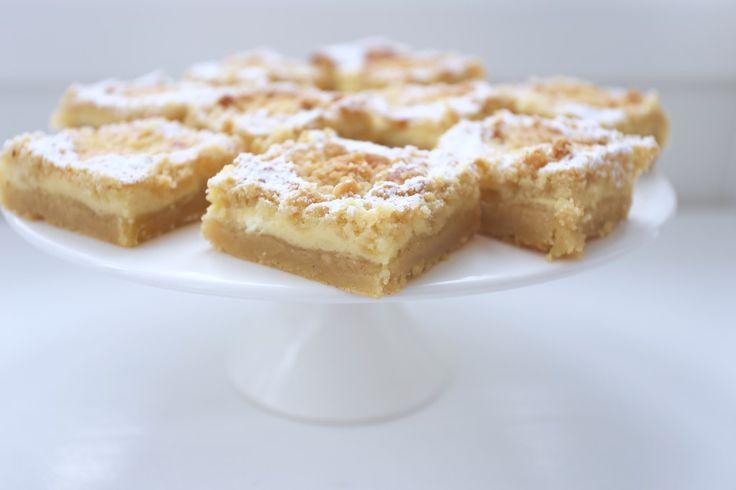 Tack för era tips om alla goda långpannekakor idag på instagram ( @jennysmatblogg ) Och något som lät gott & blev farligt GOTT, var just dessa vaniljhjärtan i långpanna. Receptet från Hemmets journal.