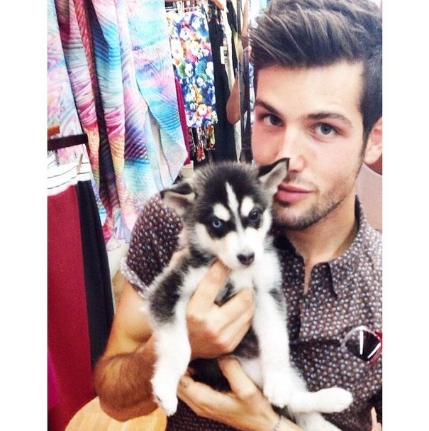 Aw this is so adorable!! Daniel might not be a youtuber but I still love him!! A Wolfie is sooooo cute!!!!! ❤️