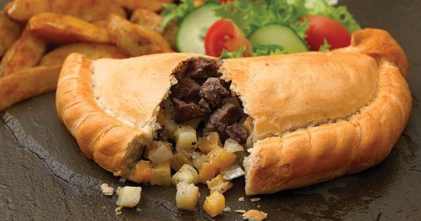 Pastie (or Pasty) ~For those of you who don't know what this is, it's a meat and potato stuffed buttery filled Pastry. It's usually filled with Beef or Pork Sausage, lots of Potato's, Onion, or rutabaga. There are many different recipes but it is something you should try at least once in your life. This is big in Wisconsin and Northern Michigan
