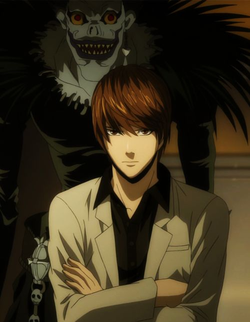 Death Note - Light - I dont care if hes evil, or if he kills my other favorite character! He is still so darn hott, and hes psycho.