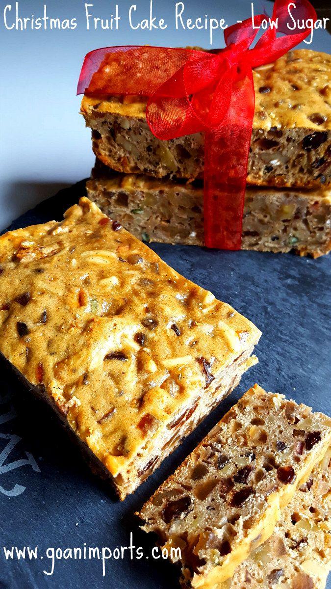Goan Christmas Fruit Cake Recipe