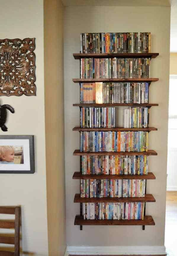 40 space saving solutions and storage ideas for your living room rh pinterest com