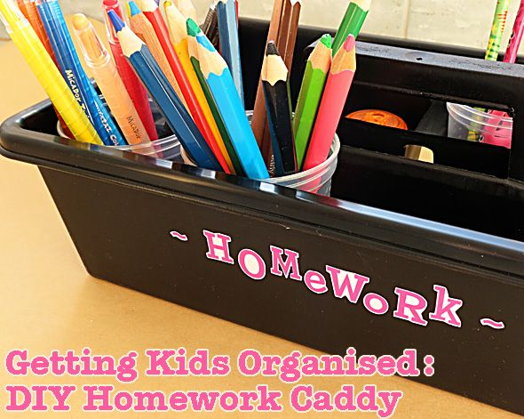 how to get organised with homework