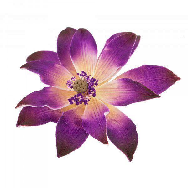 Water Flower Purple 5 Count Global Sugar Art Water Flowers Flowers