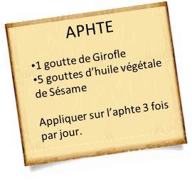 aphte he Aphte : Nos meilleures recettes pour soigner un aphte rapidement