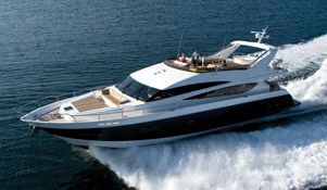 Many trips on a Princess 85 Motor Yacht