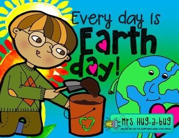 Earth Day!  Every day is Earth Day {fun and facts booklet}