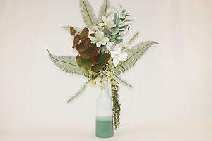 images of exotic silk flower arrangements | Silk Flower Arrangements Large Tropical Artificial Flower Arrangement ...