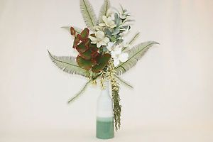 images of exotic silk flower arrangements | Silk Flower Arrangements Large Tropical Artificial Flower Arrangement ...