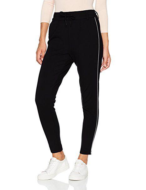 f713ee03821c54 ONLY Damen Hose Onlpoptrash Piping Pant Noos: Only: - Jogginghose Style Damen  jogginghosen style