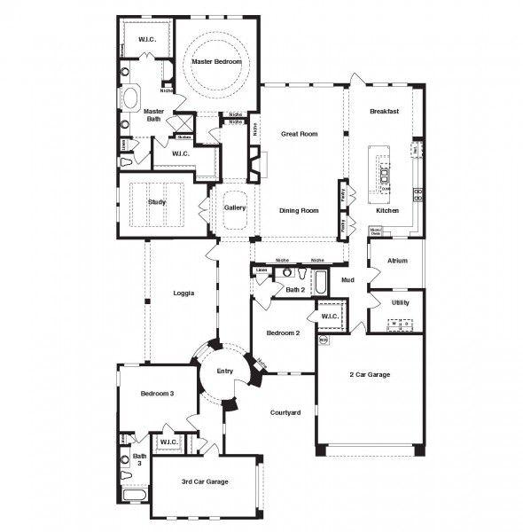 Sitterle homes garden home floor plans