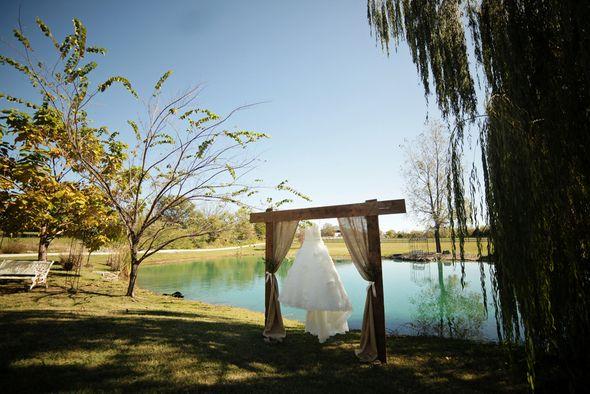 Rustic Wedding Arbor Riverside