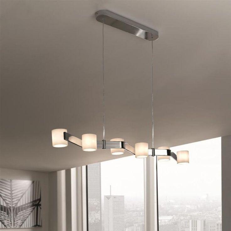 Details Zu Freya Pendelleuchte Hngeleuchte 6x G4 20 Watt Decken Lampe Leuchte Massive